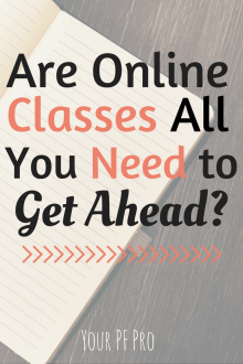 Are online classes all they're really cracked up to be? Check out my latest post at Your PF Pro! @sunburntsaver