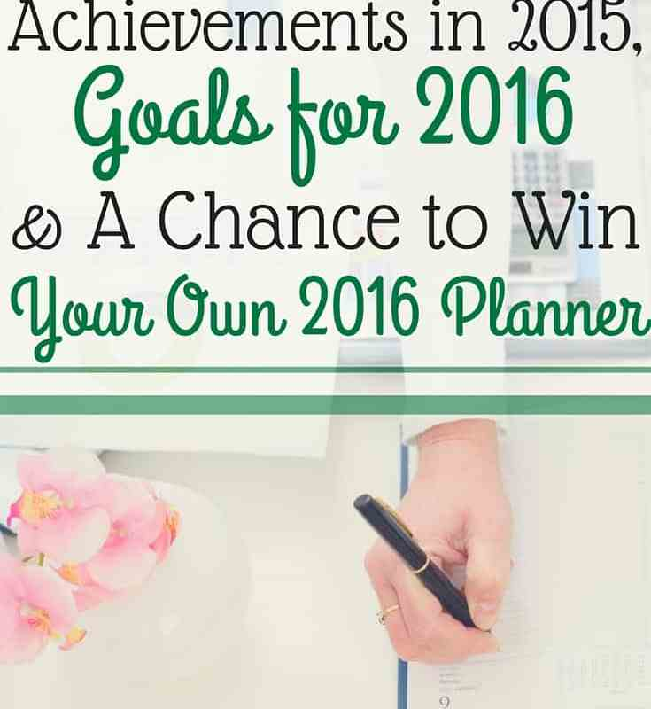 My Plans for 2016 + A Giveaway!