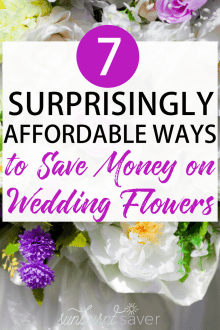 7 Surprisingly Affordable Ways to Save Money on Wedding Flowers