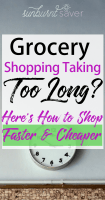 How to Save More Money and Time Grocery Shopping