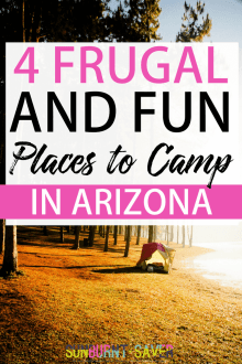 4 Fun, Frugal Places to Go Camping in Arizona