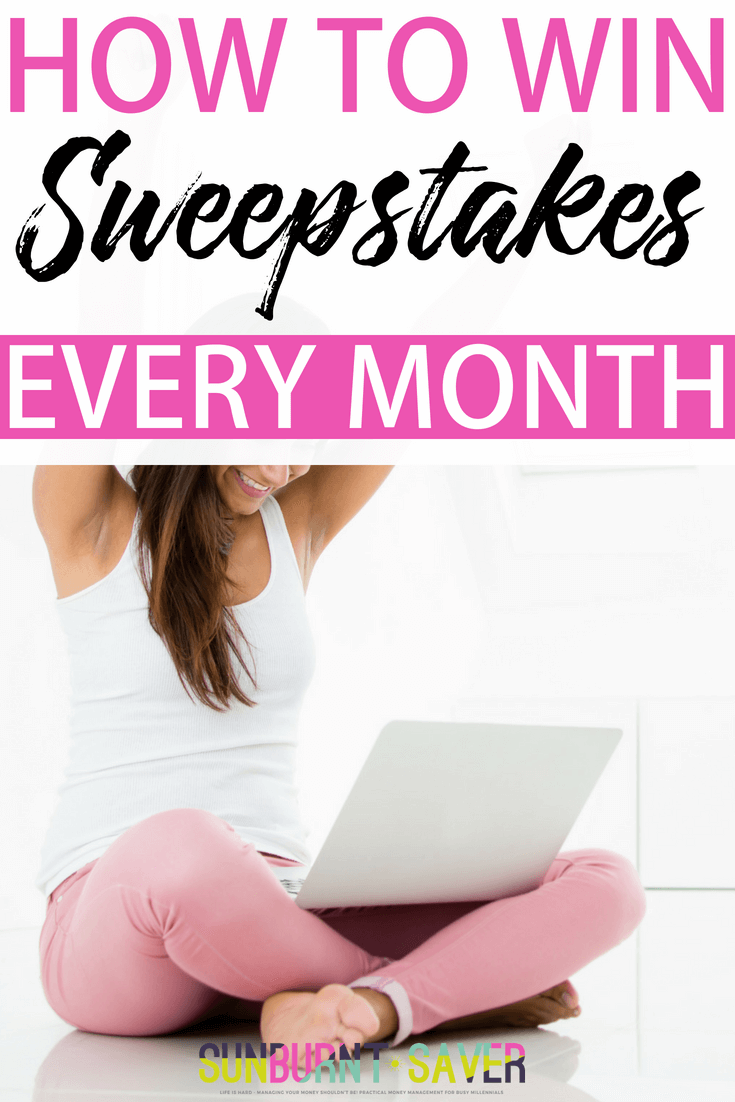 Ever wondered if it's possible to win sweepstakes prizes? It is possible, and in this article, we'll show you exactly how to maximizing your time spent finding and entering sweepstakes, so you can win sweepstakes every month without spending a lot of time! #sweepstakes #win #winsweepstakes #sweepstakesstrategies #earnmore