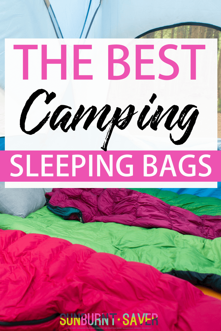 Looking for the best sleeping bags for casual camping? I test out 3 of the best camping sleeping bags out there - plus, more tips for #frugal #camping! #campingtime #howtocamp #beginnerscamping #beginningcamping #frugaltravel #sleepingbags