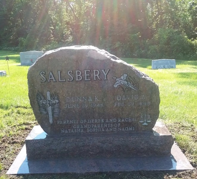 Salsbery marker front