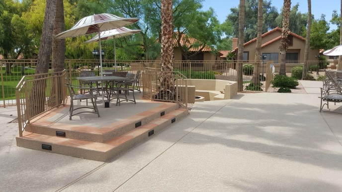 Sun Canyon Pool Deck Patio Tables & Chairs