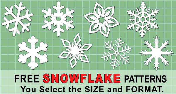 Snowflake Templates Printable Stencils And Patterns Patterns Monograms Stencils Diy Projects
