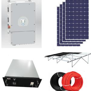 5kw grid tied solar kit