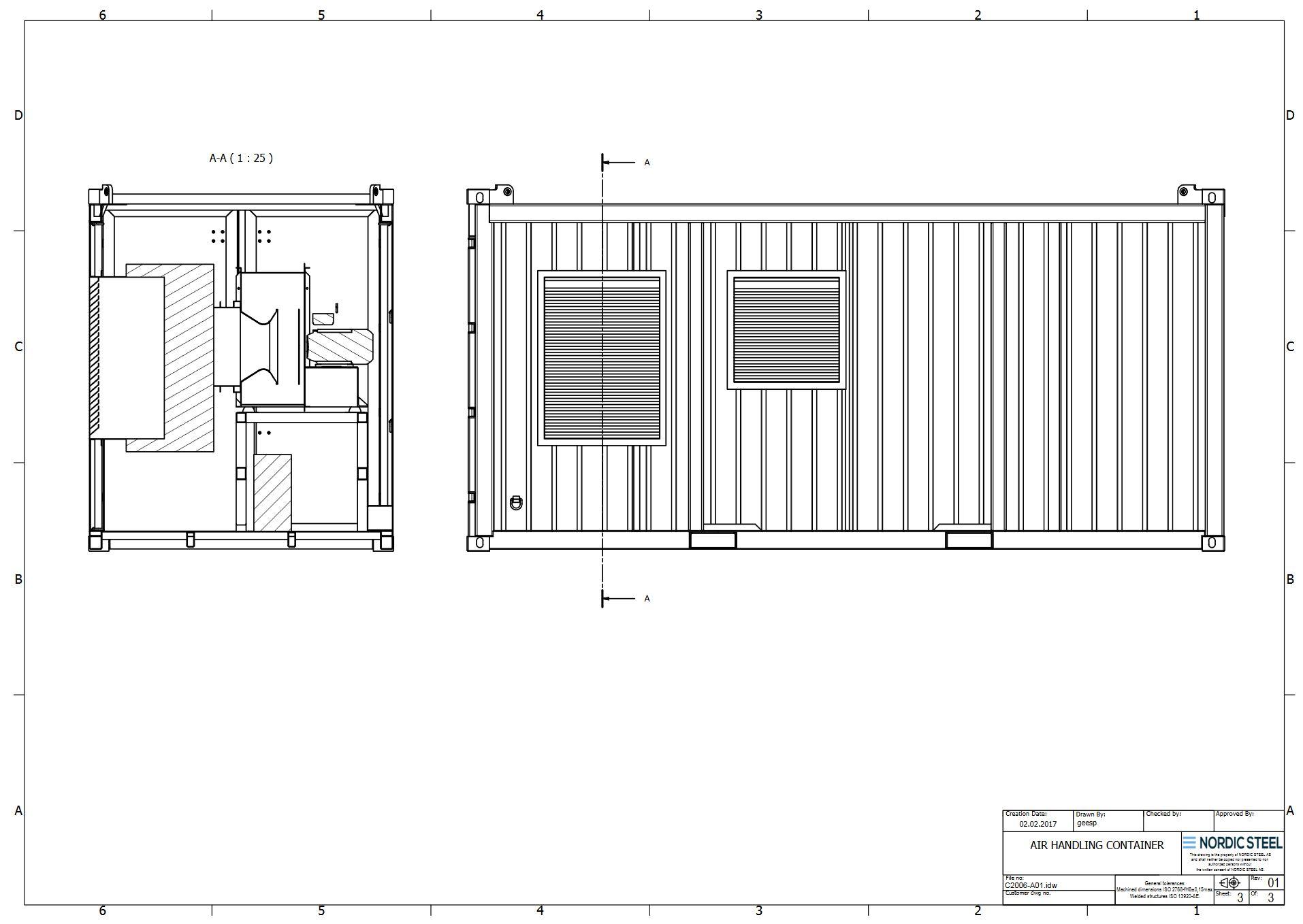 Portable Hvac Container