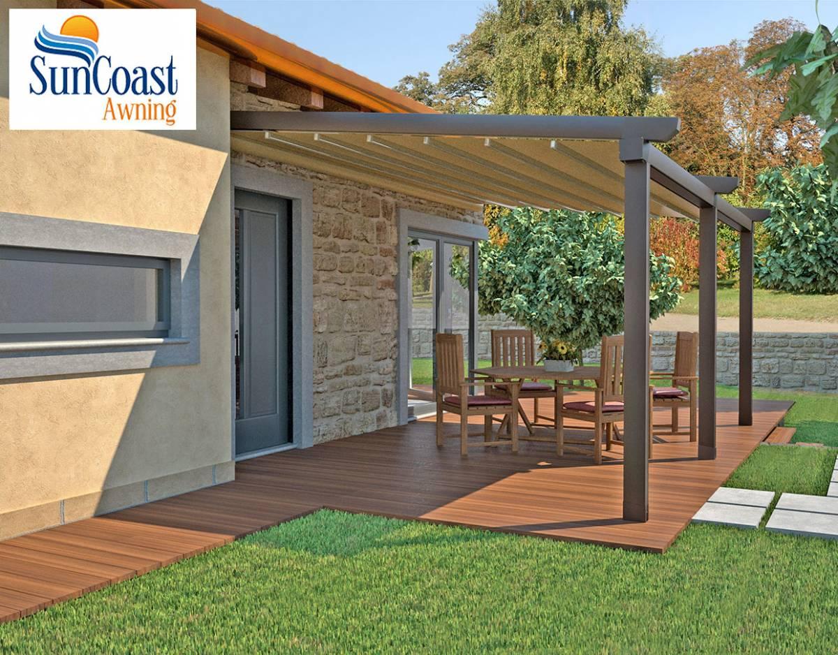 SunCoast Awning Pergola Shade Systems, Pergola Covers ... on Canvas Sun Shade Pergola id=30852