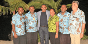 Wananavu Beach Resort hosts Skal International and Minister for Tourism