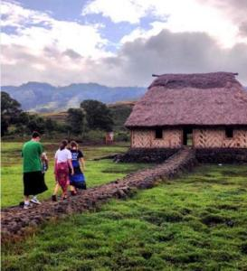 Village visits are an important aspect of Talanoa Trek tours