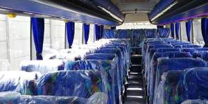 Pehicle takes delivery of brand new 49-seater bus