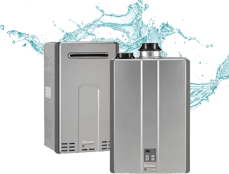 Tankless water heater for your home or business. Never run out of hot water again.