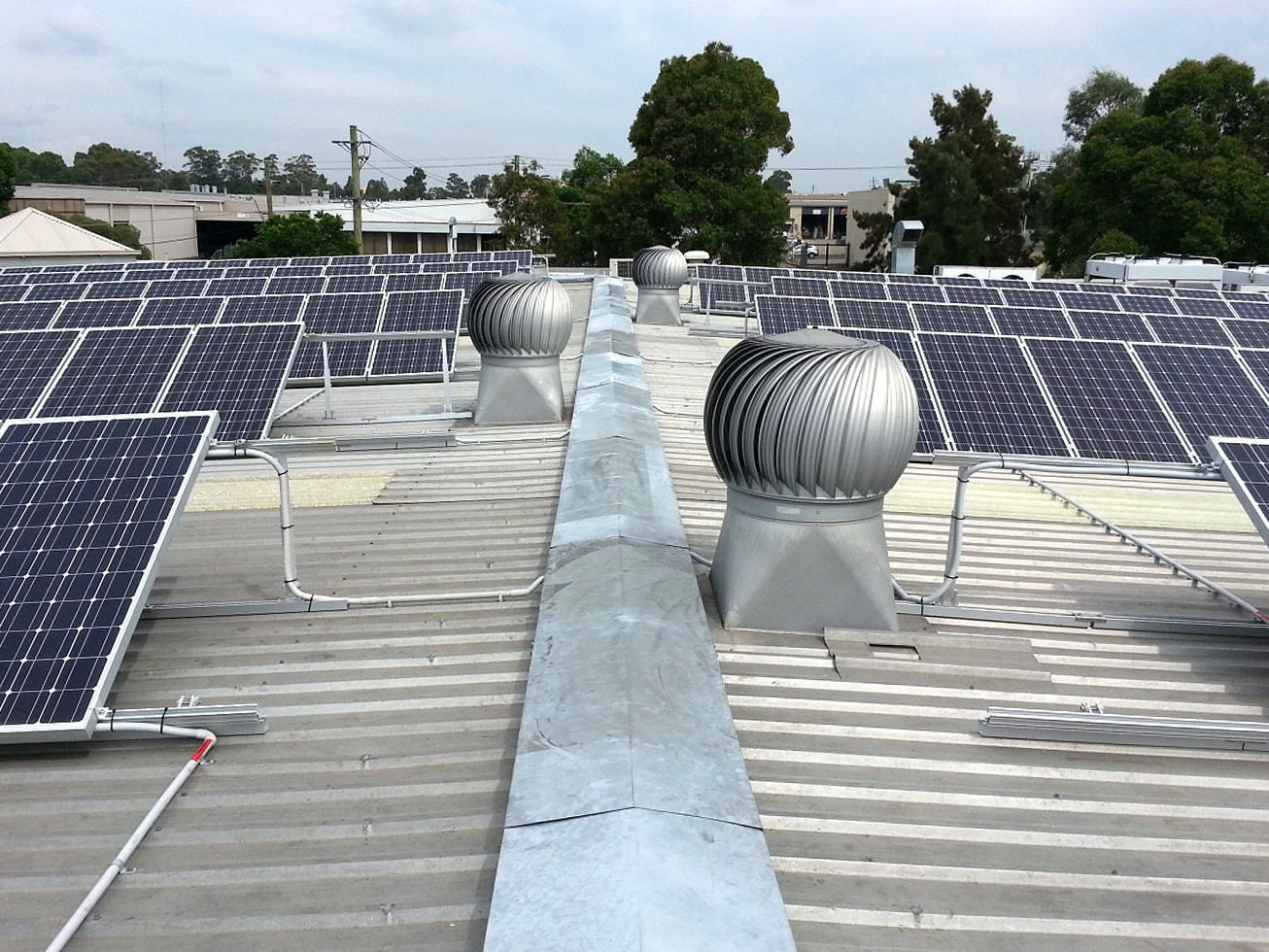 Commercial Solar Power Solutions Sun Connect Panel Wiring Wastech Vic