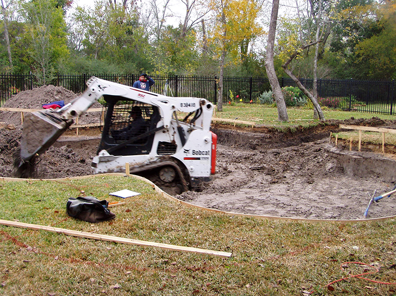 Swimming Pool Construction Contractor in Katy, Tx