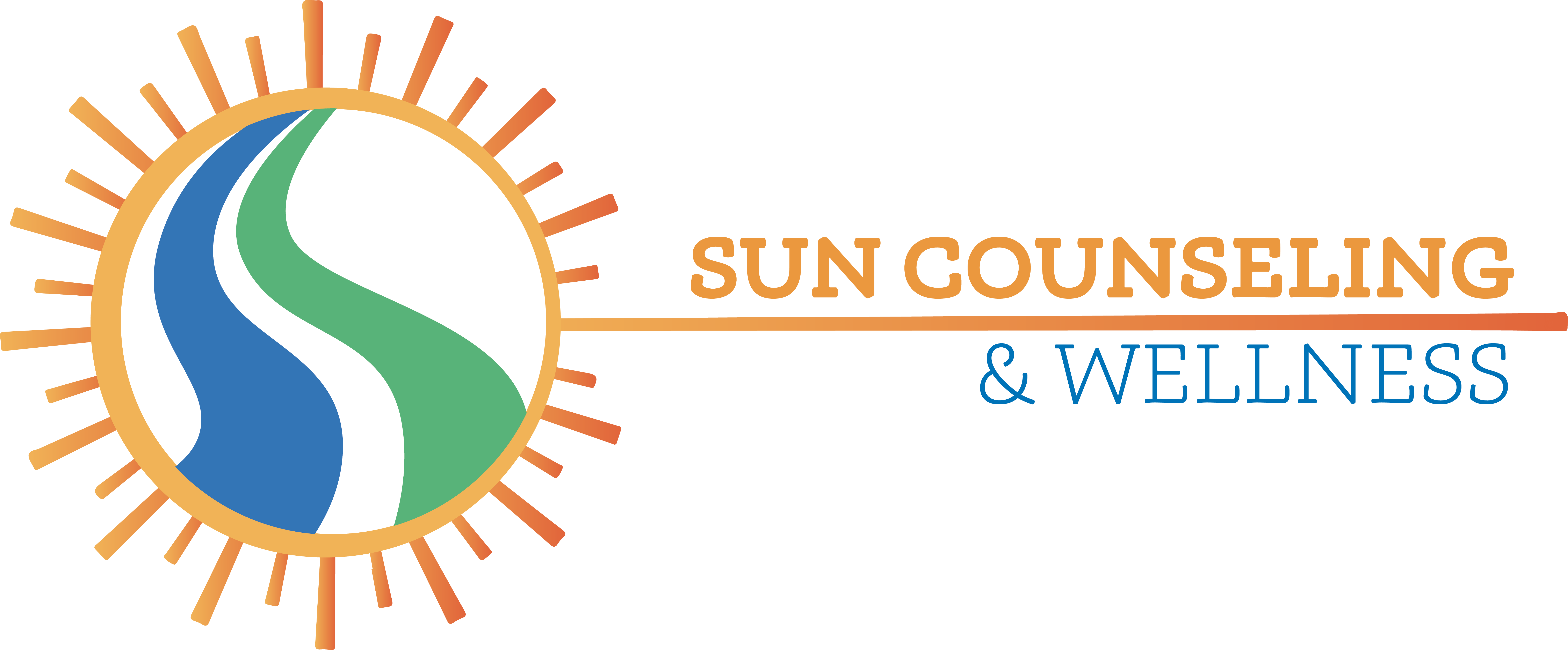 Sun Counseling and Wellness Logo