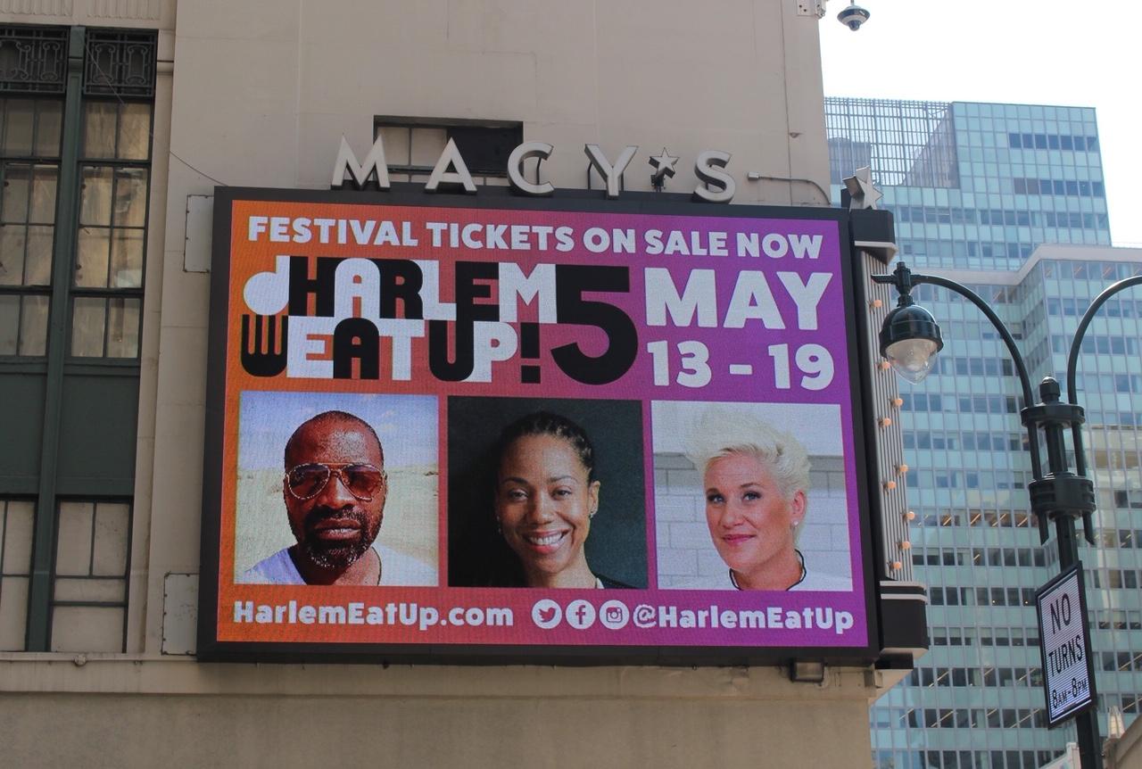Harlem eatup Me at Macys!