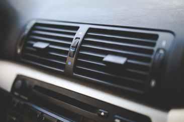 car interior air conditioner