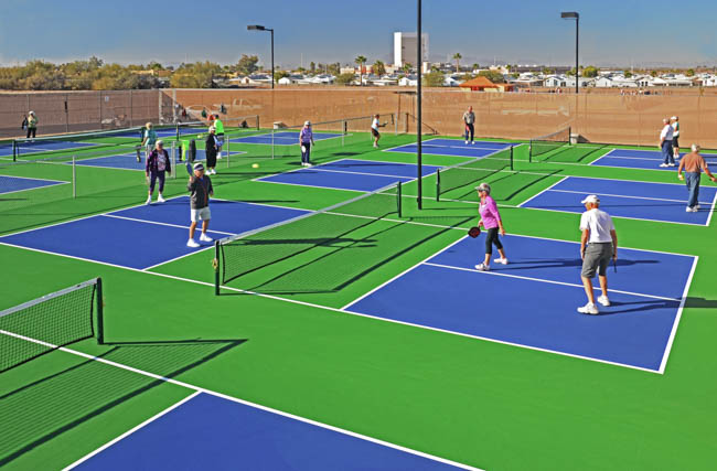 Our new Pickleball Court! Sundance 1 RV Resort