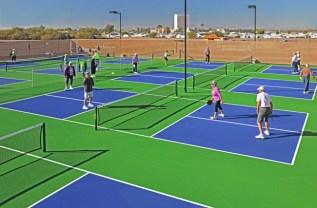 Our new Pickleball Court! Sundance 1 RV Resort