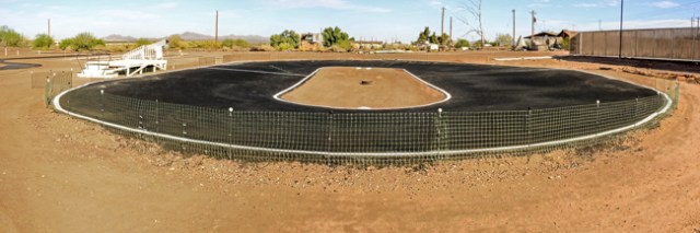 Paved RC Racetrack