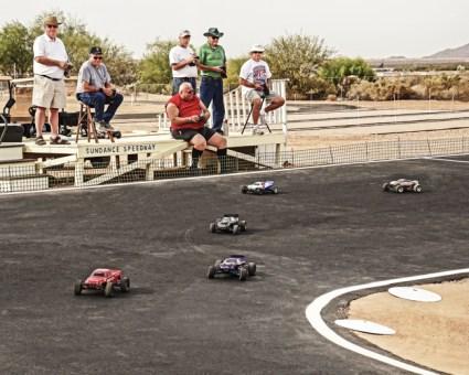 RC Race Car Track