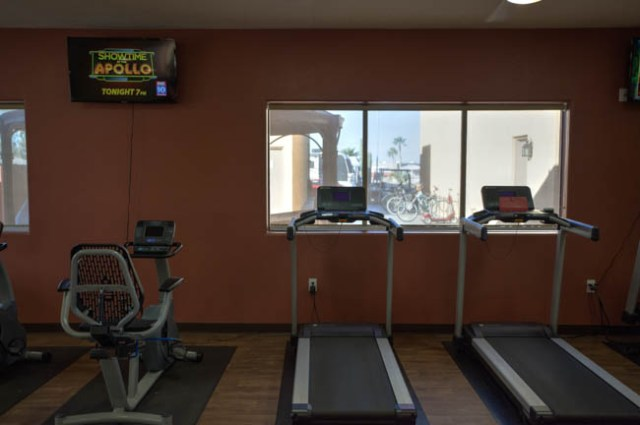 Work out room at Sundance 1 RV Resort