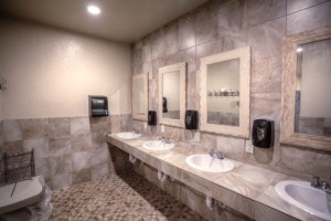 Guest restrooms and showers Casa Grande RV Resort