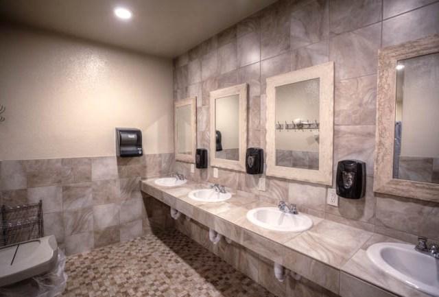 Guest restrooms and showers Casa Grande RV Resort