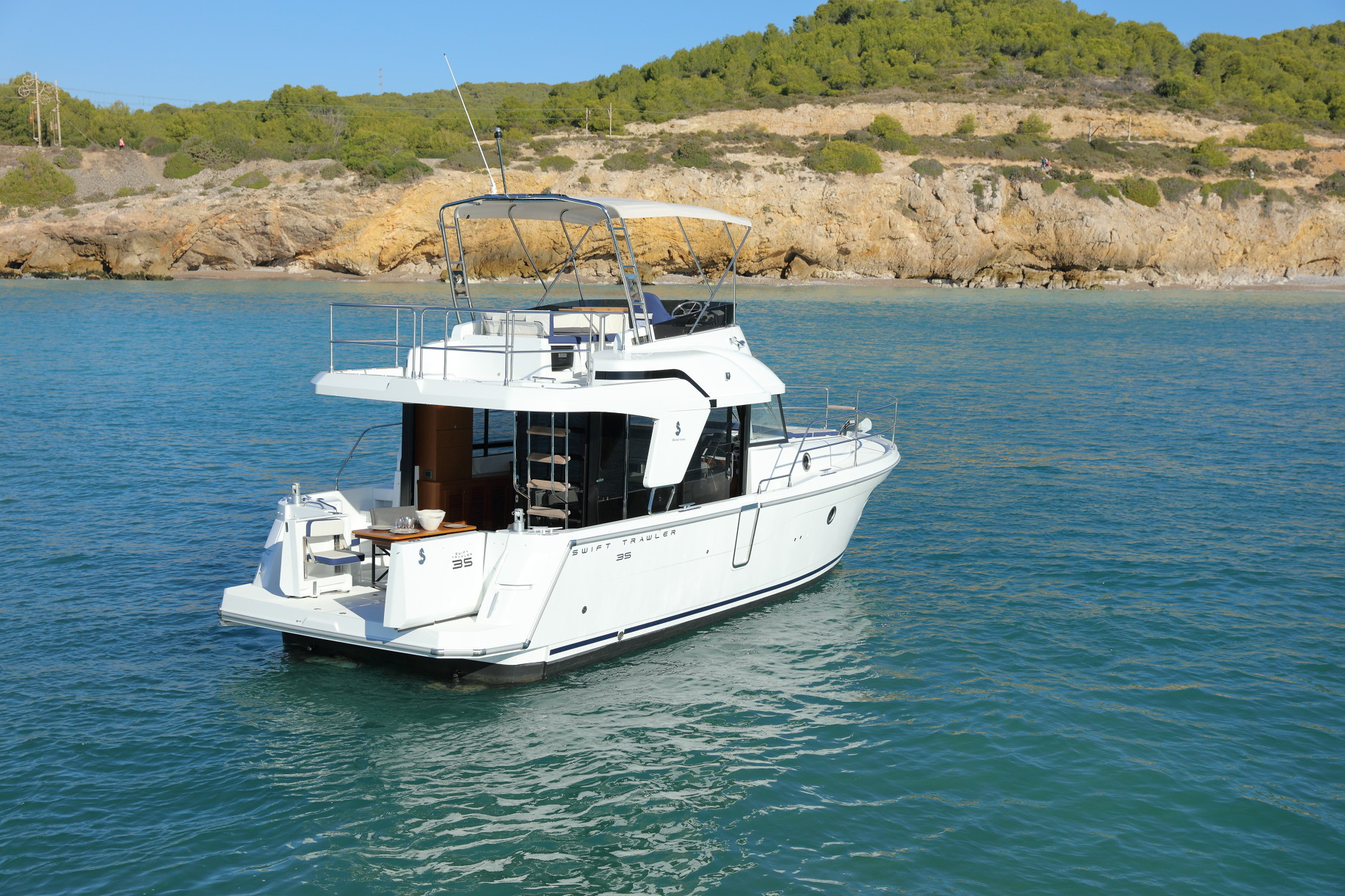 Beneteau Swift Trawler 35 Sundance Marine New Used Boat