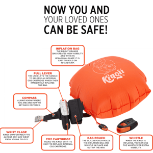 Kingii Provides a Cool Way to Stay Safe in the Water