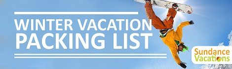 Winter Vacation Packing List- How to Pack for a Ski Trip