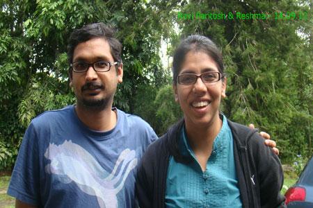 Sundara Mahal Vegetarian Homestay guests Ravi Paritosh and family