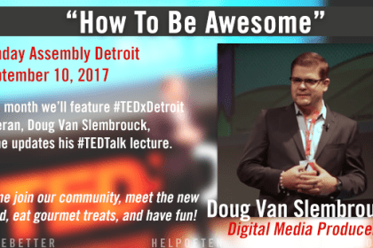"SA Detroit September 2017: ""How to be Awesome"""