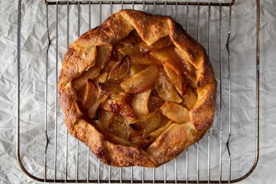 ginger apple galette
