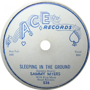 Sam Myers: Sleeping In The Ground