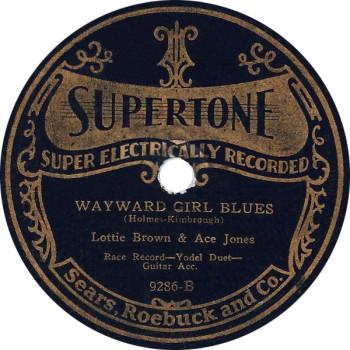 Wayward Girl Blues 78
