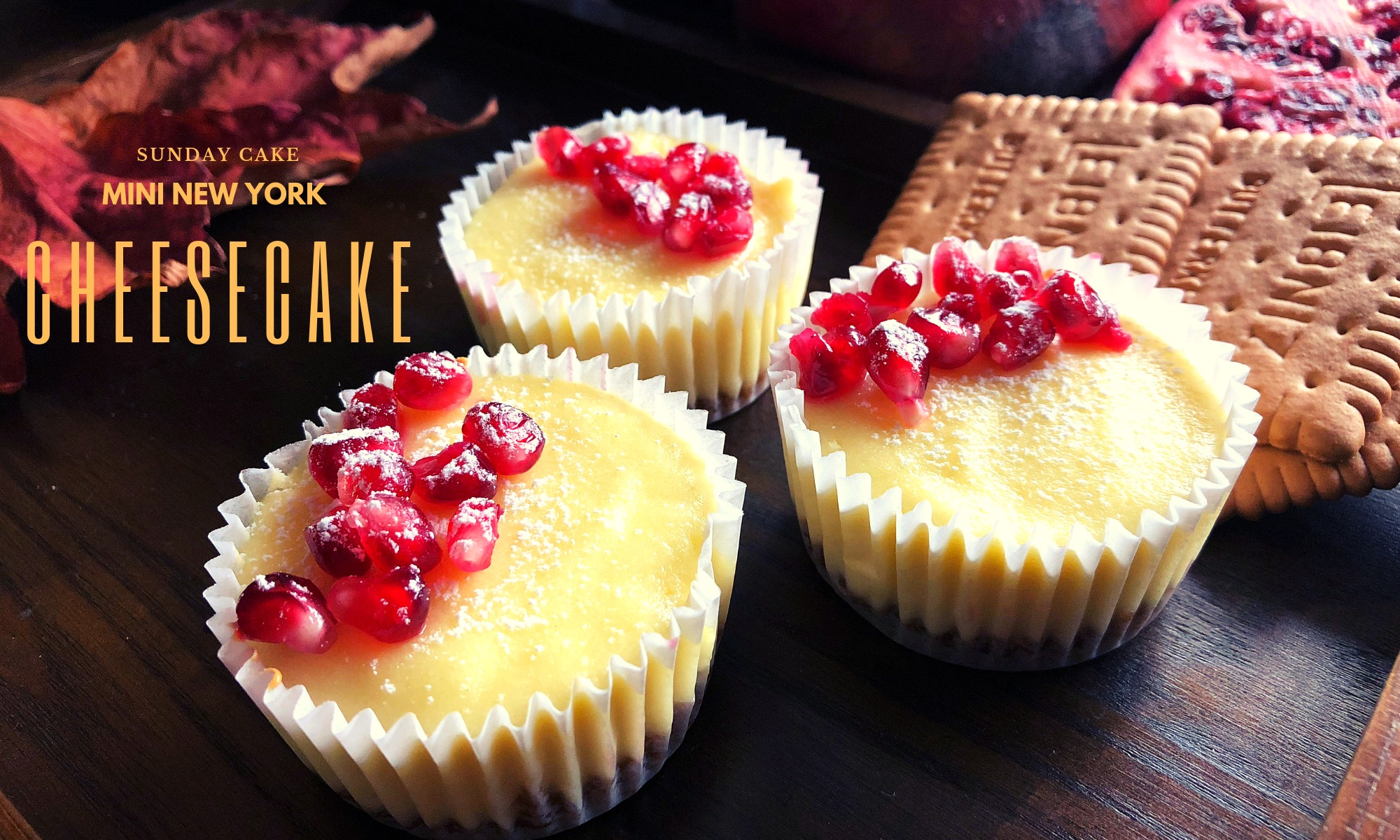 Mini-New York Cheesecake