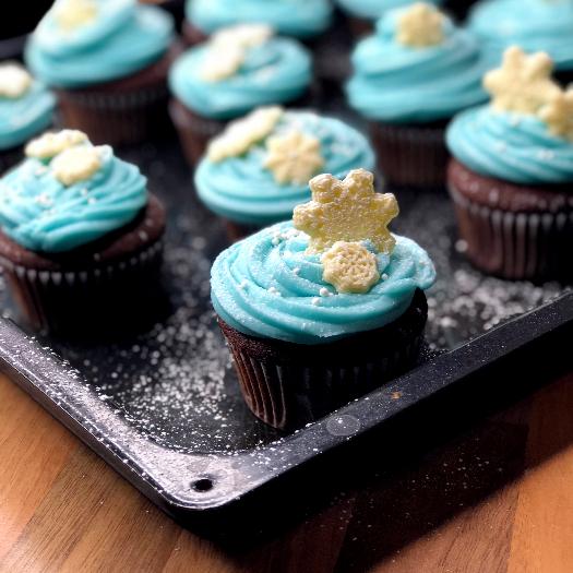 Eiskristall Cupcakes_2
