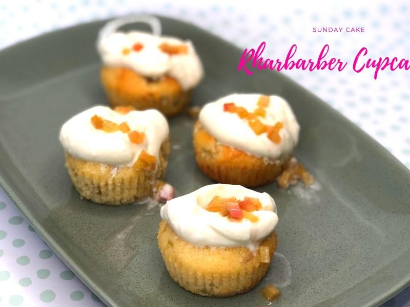 Rharbarber Cupcakes