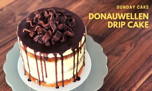 Donauwellen-Drip-Cake
