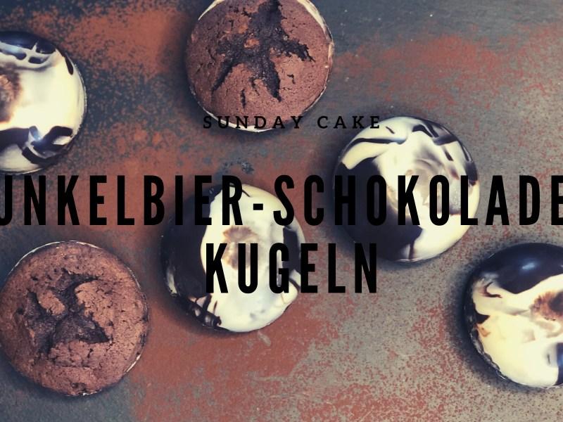 Dunkelbier-Schokoladen-Kugeln