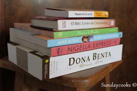 livros de receitas