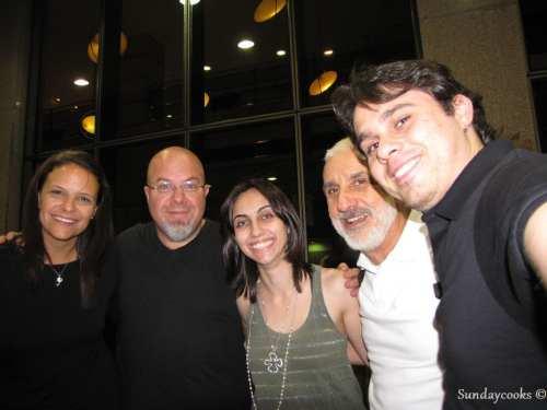 Patrícia, Riq, Nick, Nati e Fred