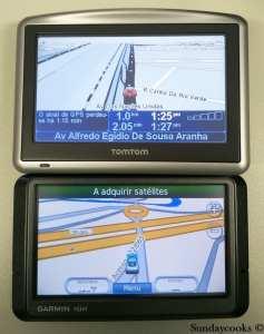 TOMTOM GARMIN GPS