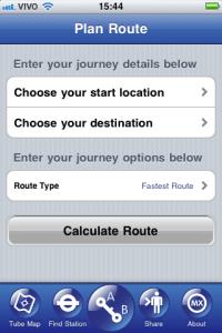 Tube Map app
