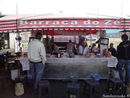 feira do pacaembu barraca do ze pastel veja sao paulo