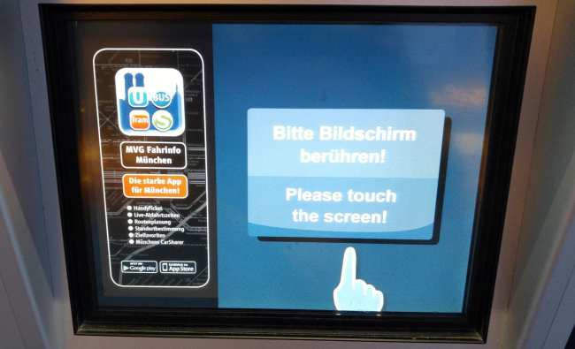 Guia completo como usar o metro de Munique - 02