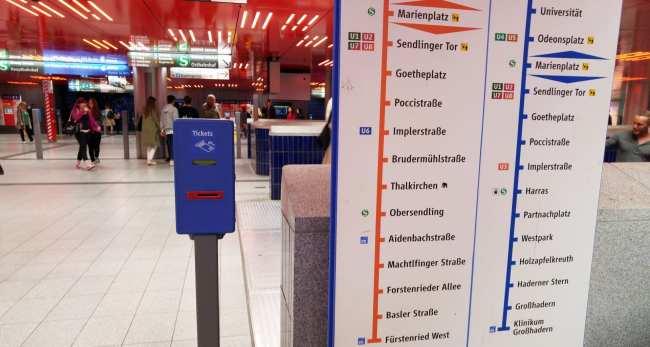 Guia completo como usar o metro de Munique - 14