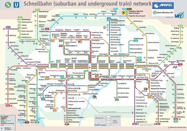 Guia completo como usar o metro de Munique - 21